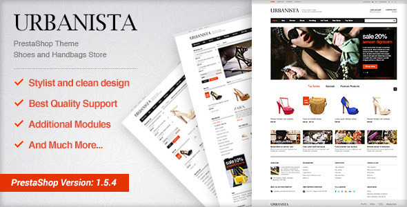 EggThemes Urbanista - Fashion Theme PrestaShop Fashion