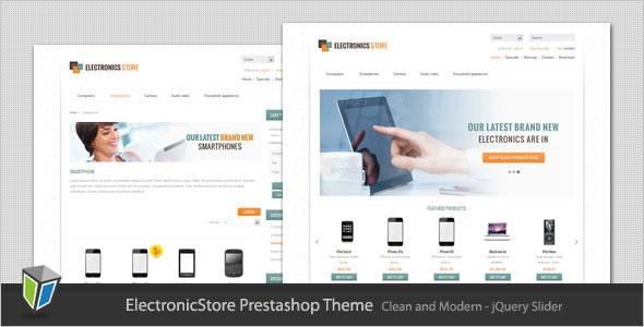 Electronics Store - Clean Prestashop Theme Technology