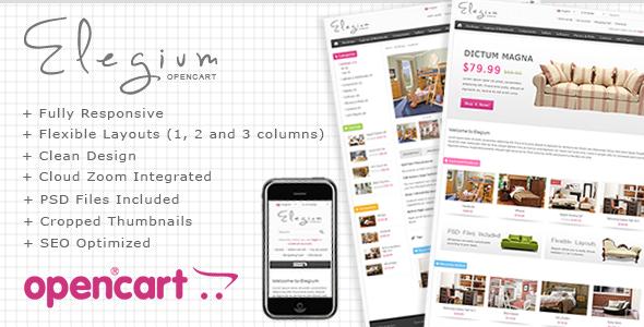 Elegium - OpenCart Premium Theme
