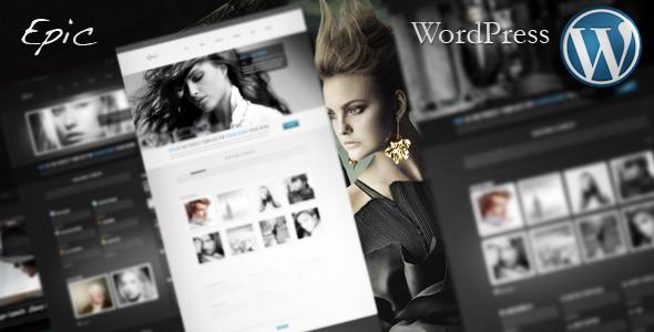 Epic WordPress Theme Creative