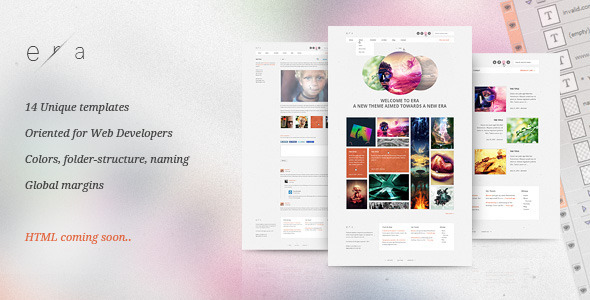 Era PSD - Visual Performance Creative PSDTemplates