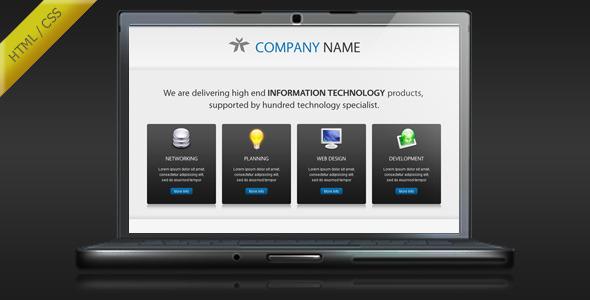 Esperto - Clean Landing Page Template LandingPages Landing Page