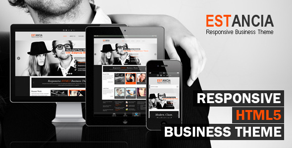Estancia - Responsive HTML 5 Theme Template Corporate