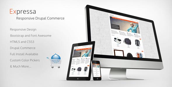 Expressa - Responsive Drupal Commerce Theme Retail