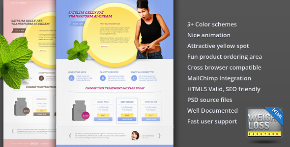 FAST E Vitamins Weight Loss Landing Page LandingPages Landing Page