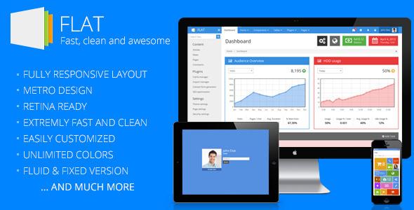 FLAT - Responsive Admin Template AdminTemplates