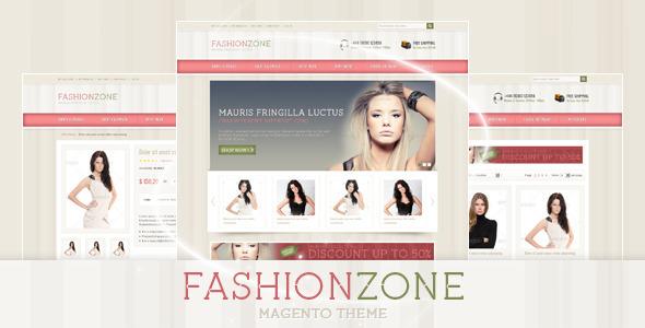 Fashion Zone Magento Theme Fashion