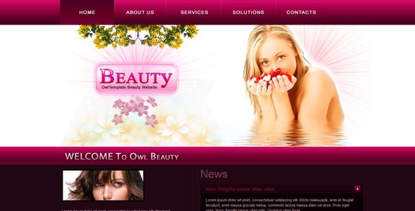 Fashion health and beauty website