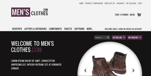 Fashionista Premium OpenCart Theme Miscellaneous