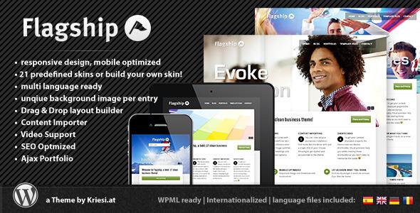 Flagship - Responsive Business and Portfolio WordPress Corporate