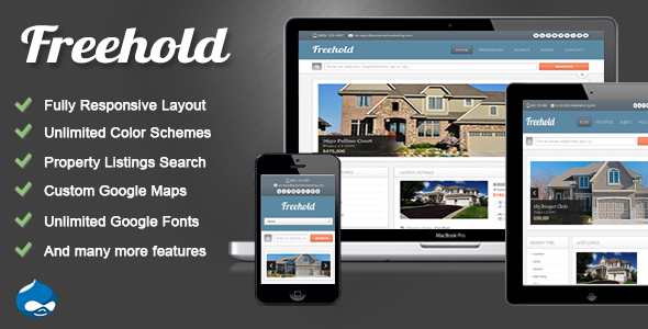 Freehold - Responsive Drupal 7 Real Estate Theme Miscellaneous