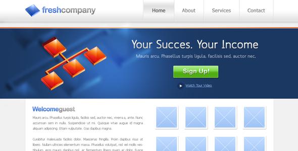 Fresh Company Website