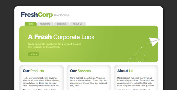 FreshCorp - Business Template