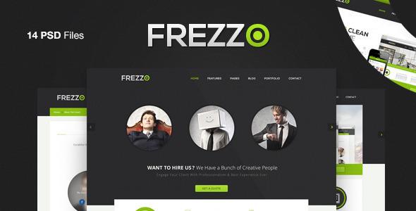 Frezzo - Clean & Multi Purpose PSD Template Corporate