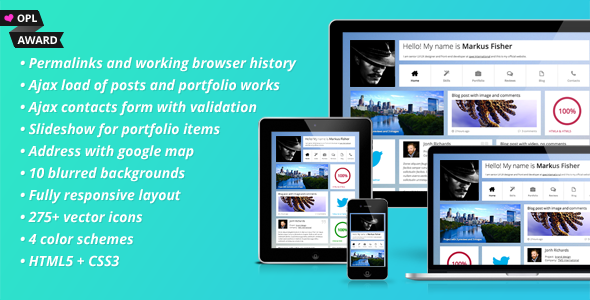 Frittata - Responsive Personal Template Personal