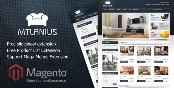 Furniture magento theme MT Lanius
