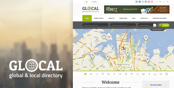 GLOCAL - Directory PSD Template Miscellaneous