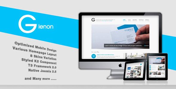 Glenon - Responsive Joomla Katene Lewat Creative