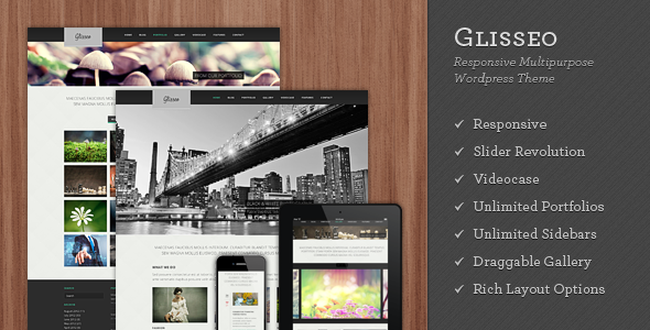 Glisseo - Responsive Multipurpose WordPress Theme Creative