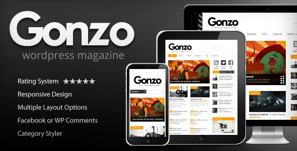 Gonzo -  Clean, Responsive WP Magazine WordPress Blog/Magazine