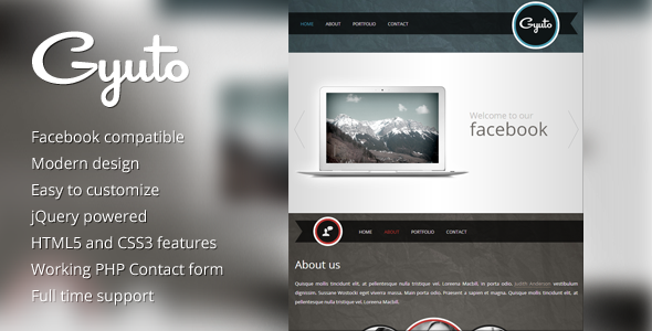Gyuto - facebook template Corporate