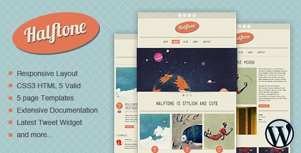 Halftone - WordPress Theme Creative