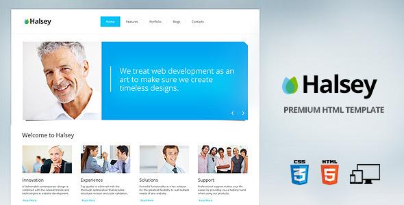 Halsey - Premium corporate template Corporate