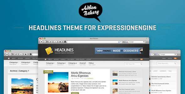 Headlines – Stylish Magazine EE Theme