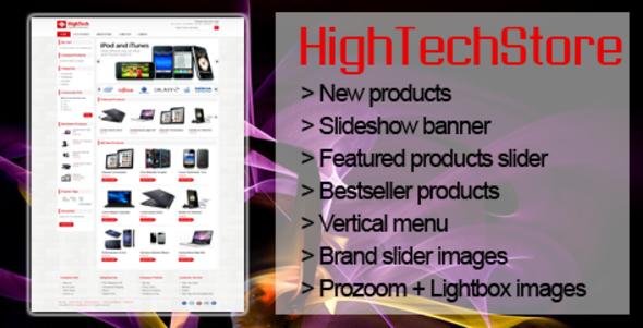 HighTech Magento Theme