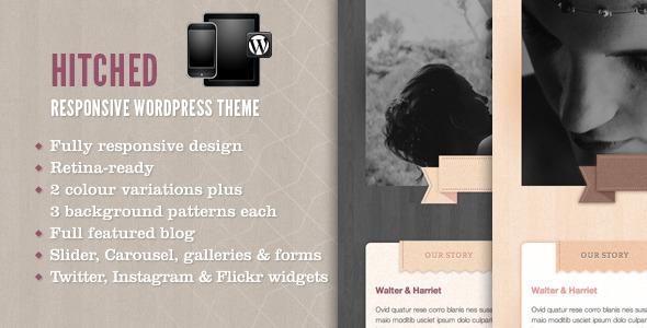 Hitched - Responsive Wordpress Wedding Theme Entertainment
