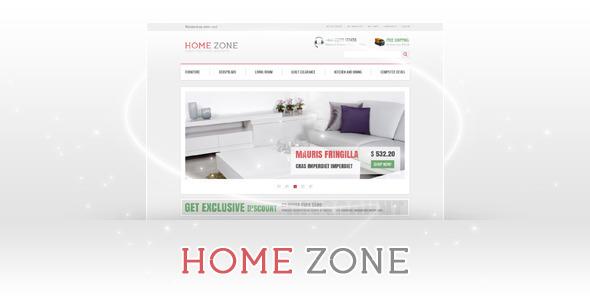Home Zone Magento Theme Shopping