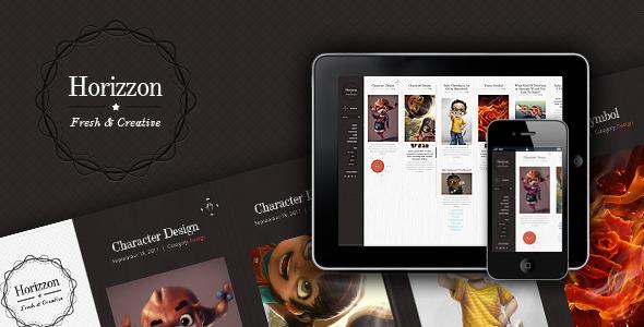 Horizzon - Unique Wordpress Theme Blog/Magazine