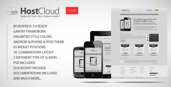 HostCloud - Premium WordPress Theme Technology