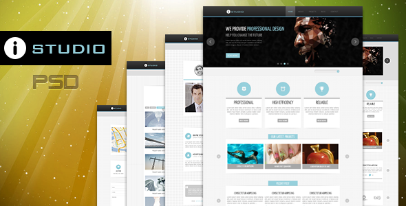 IStudio-PSD Template Creative