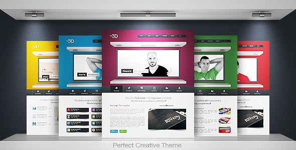 Idea 3D - Creative Portfolio Business WP WordPress Creative