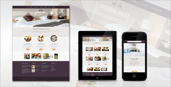 Imperial: Hotel HTML Template Retail