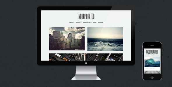 Incorporated - Tumblr Theme