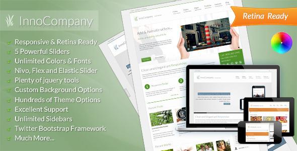 InnoCompany   Corporate wordpress theme Corporate