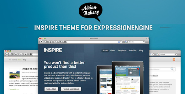 Inspire - Dynamic Business EE Theme