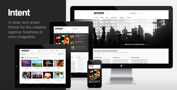 Intent - Business & Portfolio WordPress Theme Corporate