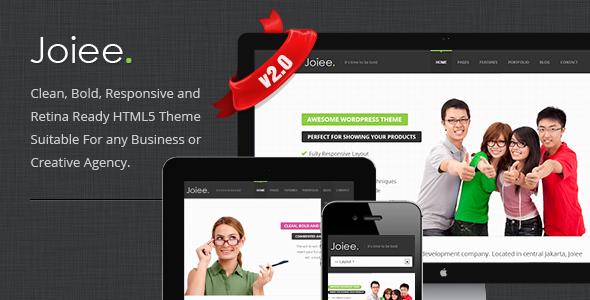 Joiee - Multipurpose Responsive HTML5 Theme Template Corporate