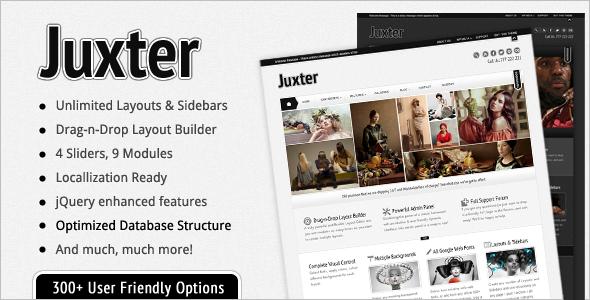 Juxter: Powerful & Elegant WP Theme WordPress Blog/Magazine
