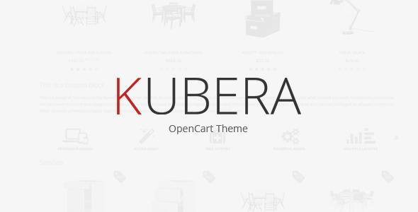 KUBERA - Premium OpenCart Theme Shopping