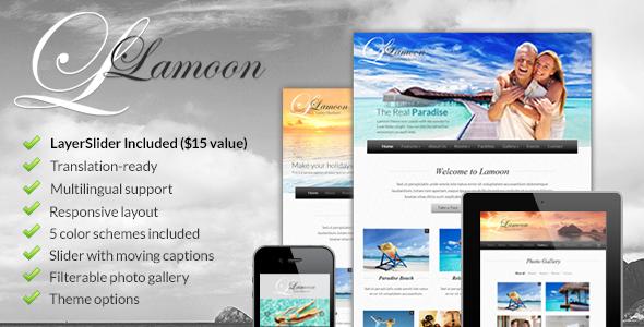 Lamoon - Responsive WordPress Theme Retail