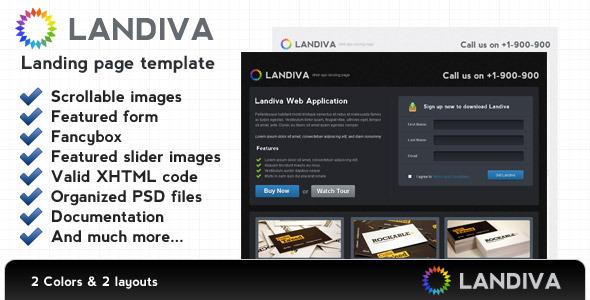 Landiva landing page LandingPages Landing Page