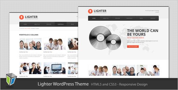 Lighter - Responsive Business WordPress Theme Corporate