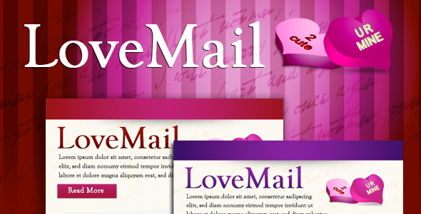 LoveMail EmailTemplates Email Template