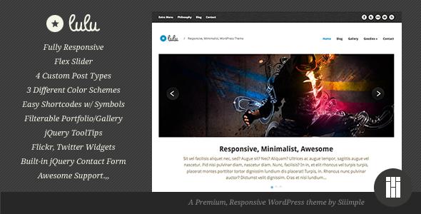 Lulu - Responsive WordPress Theme Corporate