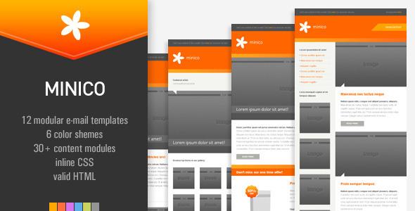 MINICO – 12 e-mail templates