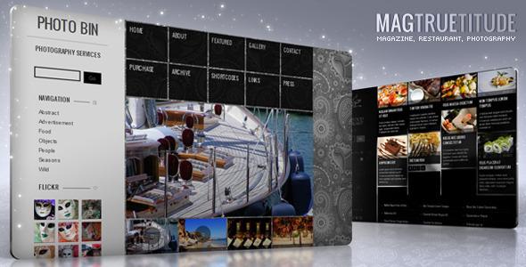 MagTruetitude Restaurant and  WP Food Magazine WordPress